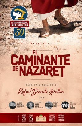 Afiche ACAE Caminante Nazaret